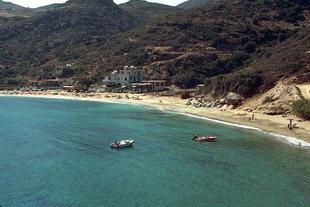 Η παραλία της Λιγαριάς δυτικά του Ηρακλείου