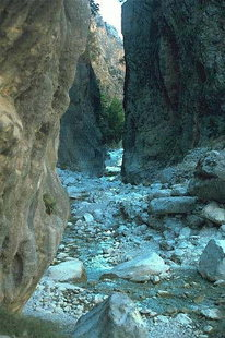 The Portes of the Samaria Gorge