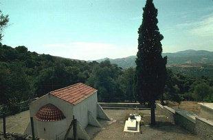The Byzantine church of the Panagia in Anisaraki, Kandanos
