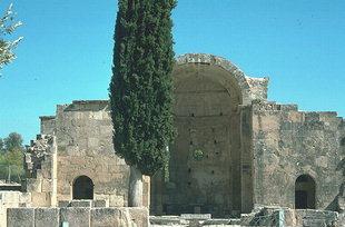 La basilique d'Agios Titos, Gortyn