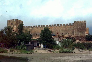 The Venetian fort of Frangokastello