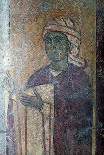 Ένας δωρητής της εκκλησίας του Μιχαήλ Αρχάγγελου στα Καβαλαριανά