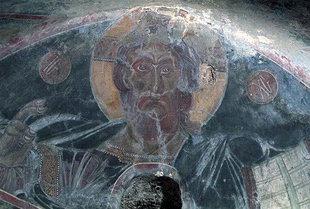 Ο Παντοκράτορας από την εκκλησία του Μιχαήλ Αρχάγγελου στα Καβαλαριανά