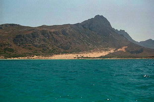 The north end of Gramvousa Peninsula