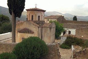L'église cruciforme du Monastère de la Panagia Gouverniotissa