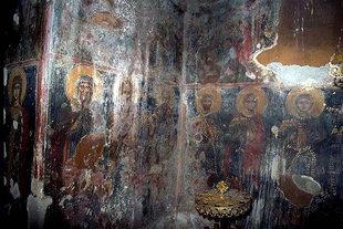 L'intérieur de l'église du Monastère de la Panagia Gouverniotissa