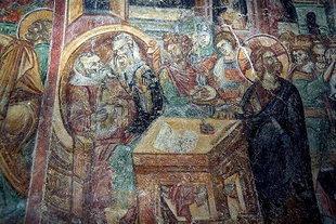 A 15C fresco from Afentis Christos Chapel, Potamies