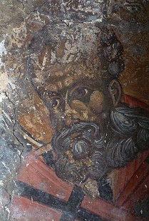 Fresko in der Agios Georgios-Kirche, Tzitzifes