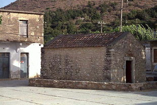 Die byzantinische Agios Nikolaos-Kirche in Maza