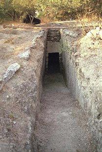 Tomba minoica a tholos di Kournàs