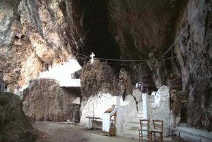 Ermis Kraneos Cave, locally known as Agios Antonios Cave Chapel, Patsos