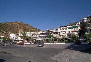 Der zentrale Platz von Agia Galini