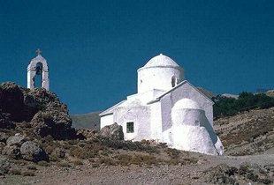 La chiesa di Agii Apostoli a Hora Sfakìon