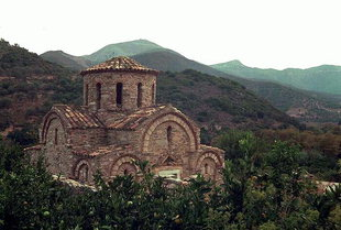 The church of the Panagia in Fodele