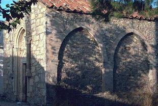 Εσωτερικές καμάρες στην εκκλησία του Μιχαήλ Αρχάγγελου στο Μοναστηράκι