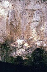 The Venetian fountain of the Vrondisi  Monastery
