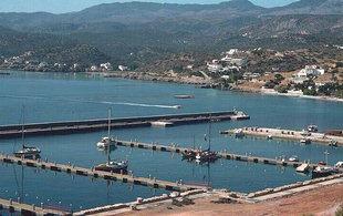 La marina di Agios Nikolaos