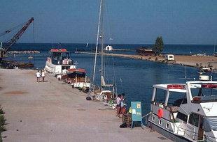 The harbour of Georgioupolis