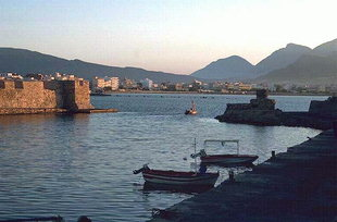 Ierapetra harbour and the Venetian fort