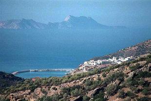 Agia Galini harbour