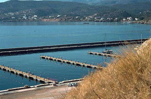 Facilities in the Agios Nikolaos Marina