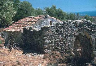 L'église d'Agios Georgios, Komitades