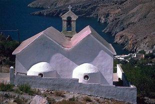 Una chiesa antica a Hora Sfakìon