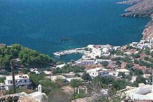 Il paese ed il porto di Hora Sfakìon
