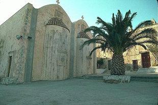 L'église d'Agios Ioannis Theologos dans le Monastère de Preveli