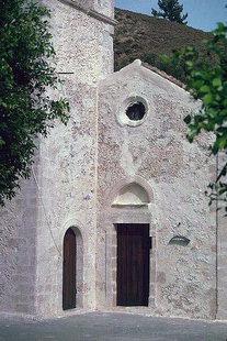chiesa di Agii Antonios e Thomàs, Monastero di Vrondisi