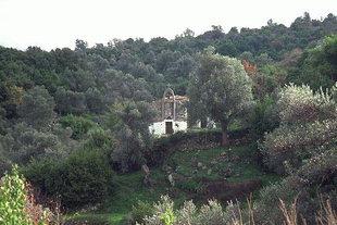 The Byzantine church of the Panagia Kera in Chromonastiri