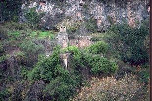 The abandon Venetian village of Mili