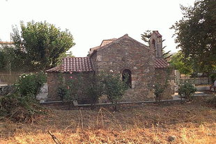 The Byzantine church of Agios Georgios in Alikianos