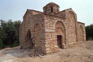 The Panagia Serviotisa Church in Stylos