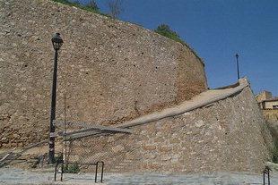 Die Lando-Rampe bei der Schiavo-Bastion, Chania