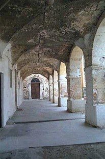 The former monastery of Agios Nikolaos in Splantzia, Chania