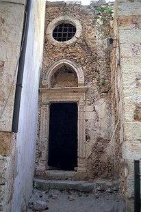 La chapelle de Renieri dans la ville ancienne de Chania