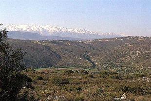 I Lefkà Ori da Akrotiri, Chanià