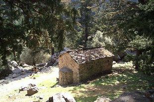 Agios Nikolaos Church, Samaria Gorge