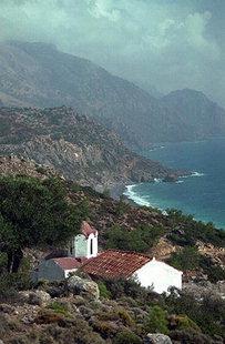 Chiesa di Agìa Irini a Sougia