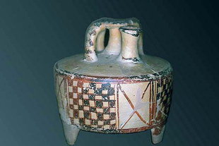Minoan pottery in the Archaeological Museum of Chania