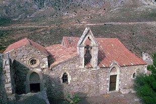 La chiesa di Agios Fanourios, Monastero di Varsamònero