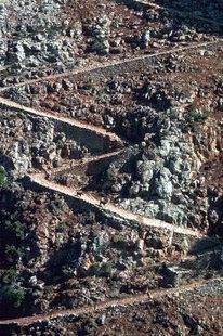 The path down to the Aradena Gorge