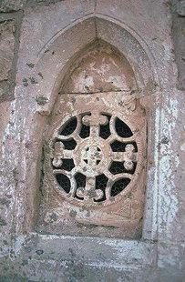 Μια λεπτομέρεια από την Εκκλησία του Μιχαήλ Αρχάγγελου στο Μοναστηράκι