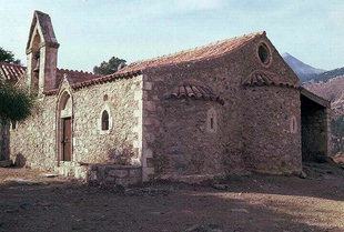 Die Agios Fanourios-Kirche, Varsamonero-Kloster