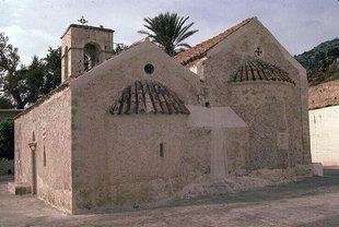 Chiesa di Agii Antonios e Thomàs nel Monastero di Vrondisi