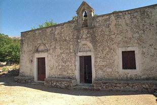 Christos Church in Pano Simi