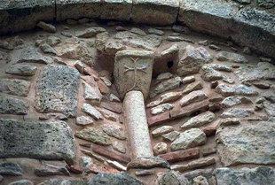 Features of the Panagia Serviotisa Church, Stylos