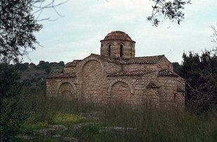 L'église de la Panagia Serviotisa à Stylos