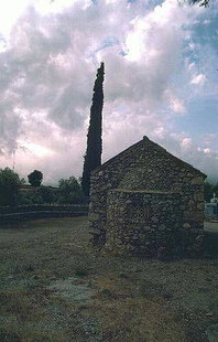 The Byzantine church of Agios Georgios, Koustogerako